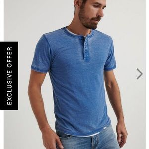 Venice Burnout Henley Shirt